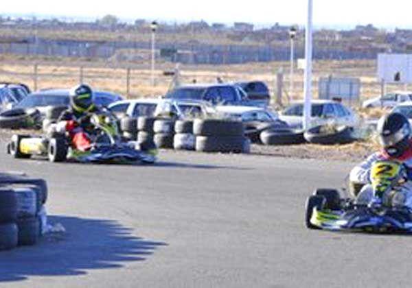 Trasarti y Amartino festejaron en el Pro Kart Neuquino