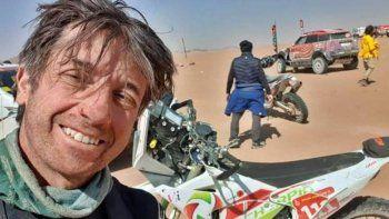 Dolor por la trágica muerte de un piloto en el Dakar