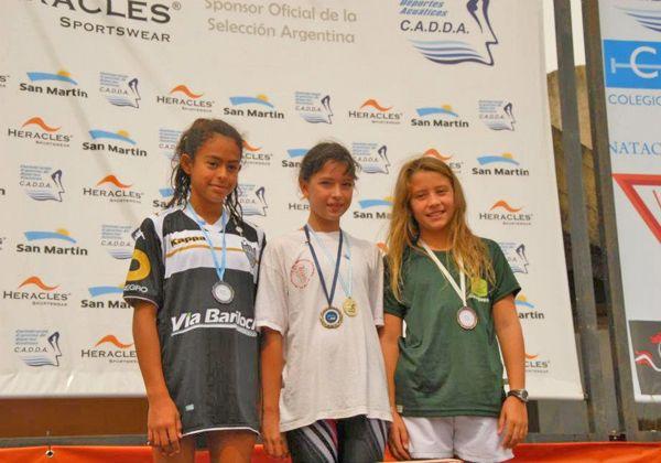 Más medallas para Cipo en el Nacional de natación