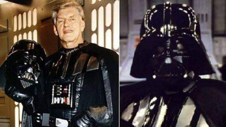 Murió Dave Prowse, el actor que interpretó a Darth Vader en Star Wars