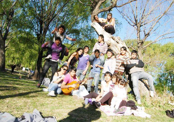 La Isla Jordán recibió a los estudiantes en su día