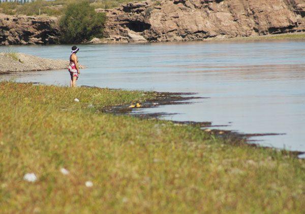Contaminación bacterial en el río Negro