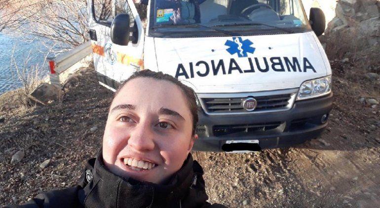 Río Negro ya tiene a su primera conductora de ambulancia