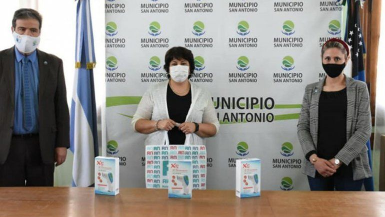 Río Negro recibió termómetros donados por la Cruz Roja para prevenir casos de Covid-19