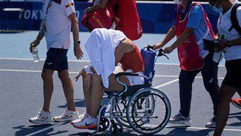 Críticas en el tenis olímpico por las altas temperaturas
