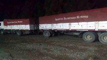 atraparon a camioneros contrabandeando maiz y soja