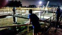 un nene de 8 anos murio ahogado en una pileta de residuos cloacales