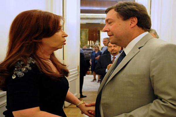Weretilneck se reunió con la presidenta