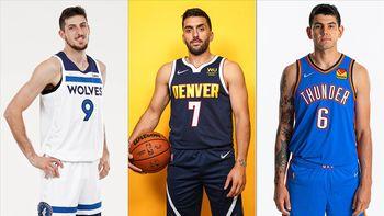 NBA: se viene el debut de Campazzo, Deck y Bolmaro