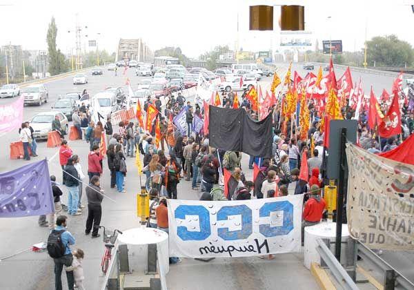 Trabajadores protestaron en su día