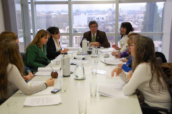 La Asociación de Celíacos de la provincia visitó la Legislatura