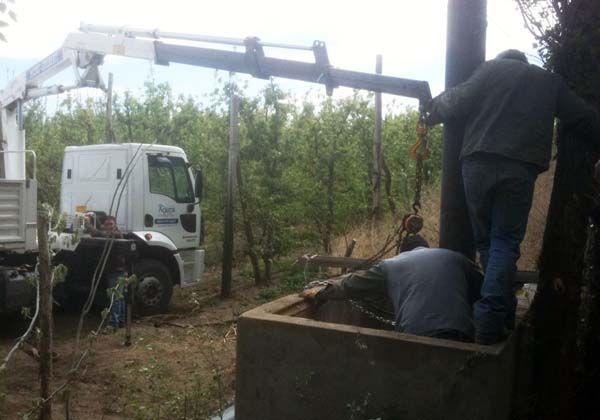 Reconstruyen cañería de impulsión en Estación Elevadora de Cipolletti