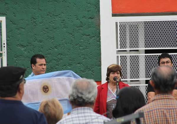 Homenajearon a Julio Rudy Salto