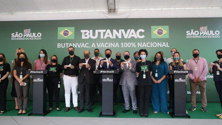 Brasil anunció la creación de su vacuna anti-Covid