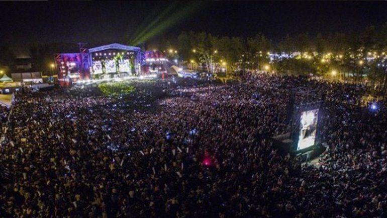 Con más de 100 mil personas, terminó la Fiesta Nacional de la Manzana
