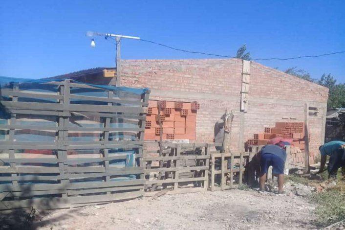Parientes justicieros recuperaron la casa tomada en 2 de febrero
