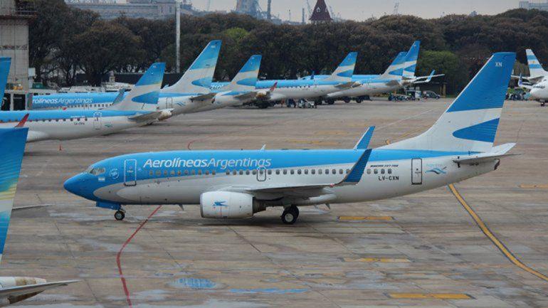 Un nuevo requisito posterga los vuelos de Aerolíneas a Bariloche