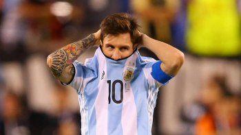 Otro golpe para Messi, que soñaba con levantar la Copa América en casa
