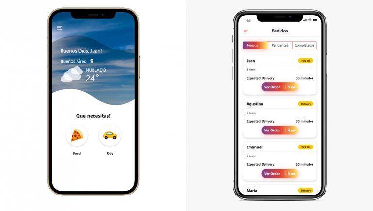Gula, la app de delivery que busca posicionarse en Cipolletti