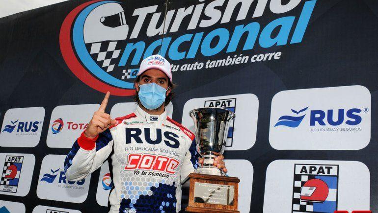 Urcera, último ganador, sale a clasificar con el TN en La Plata