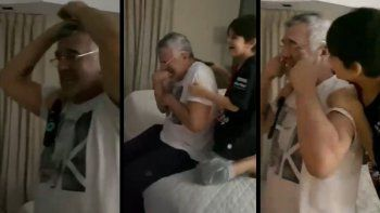 Del llanto de Dady Brieva a la ambulancia antiprotocolo: festejos virales de Colón campeón