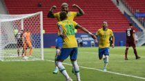 Brasil goleó a Venezuela