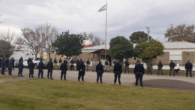 Chimpay: volvieron policías tras aislamiento por Covid-19