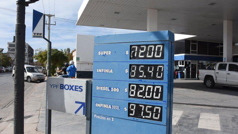 Mayo llega con un nuevo aumento de combustibles
