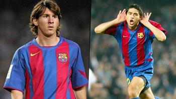 El debut de Messi en Barcelona: asado con Riquelme y denuncia insólita