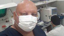 el medico baleado volvio a trabajar: el temor no se va