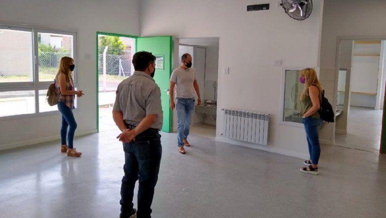 Educación constató el avance de obras escolares en el Alto Valle