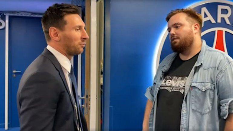 Ibai en París: trató de flojito a Messi, se plantó con Christian Martin y atendió a Gustavo López
