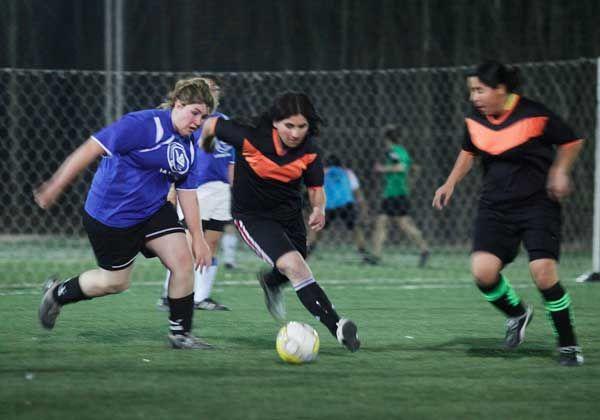 Fútbol femenino, Las Reinas del 8