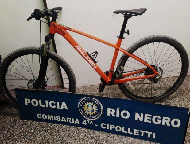 Le quisieron vender la bicicleta que le habían robado