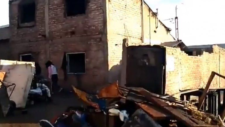Anai Mapu: un joven de 24 años está grave tras incendiarse su casa