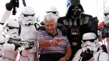Murió David Prowse, el actor que interpretó a Darth Vader en Star Wars
