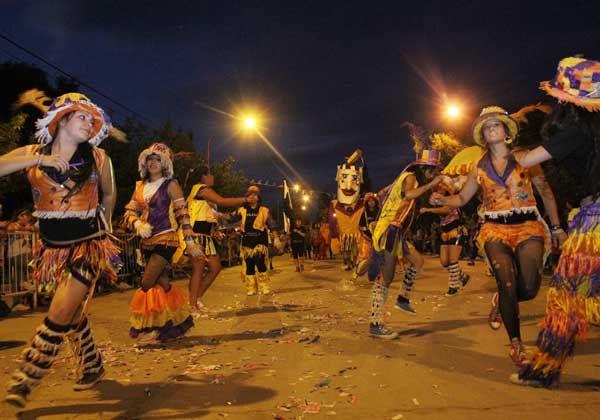 El Carnaval se vive en Parque Norte