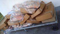 los atraparon con 364 kilos de carne vencida escondida en un vehiculo
