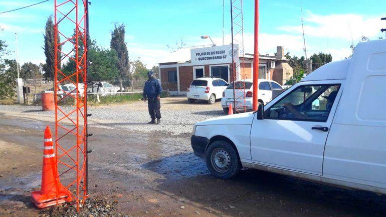 Las Perlas: municipales crearon un arco de desinfección