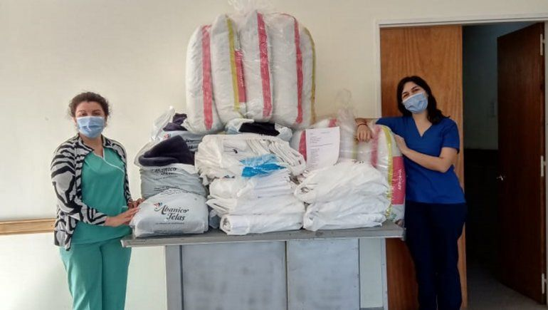 Vecinos solidarios ponen manos a la obra para ayudar al hospital