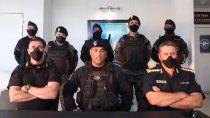 policias que saludaron a bullrich dijeron que los usaron politicamente