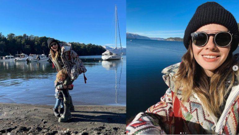 Las divertidas vacaciones de la China Suárez en Villa La Angostura
