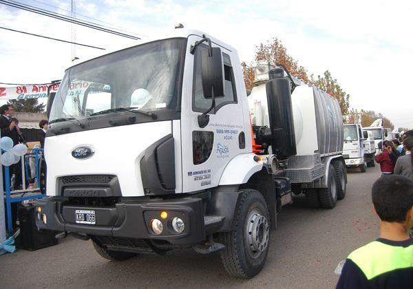 Presentaron camiones nuevos de ARSA