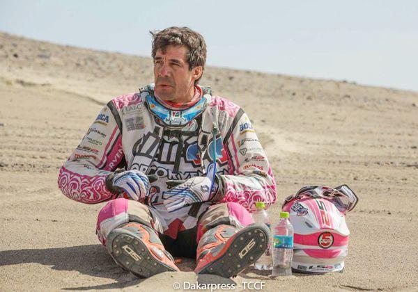 Habrá un quinto Dakar para Pablo Busin