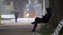 el frio intenso da un respiro: como estara el tiempo durante el finde