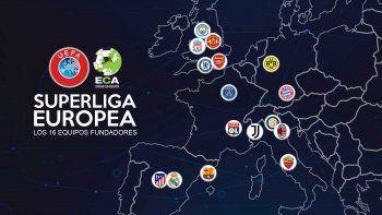 Guerra a la UEFA y escándalo: anuncian la creación de la Superliga europea