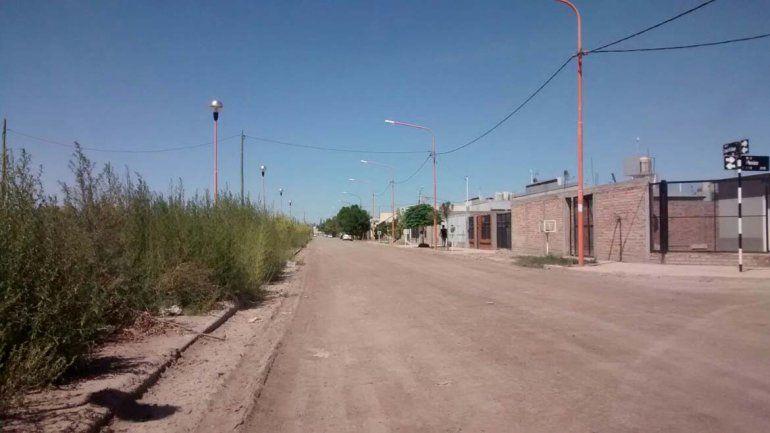 Calle Nahuel Huapi al 600.