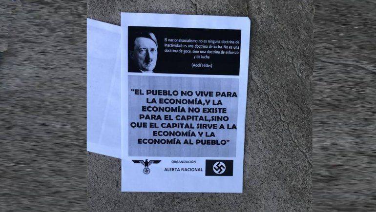 Repudio y vergüenza por la reaparición de los nazis de Viedma