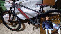 persiguio a un ladron hasta sacarle la bici que le habia robado a vecino