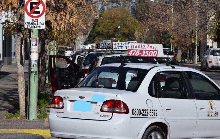 La actividad de los taxis sigue sin recuperarse de los efectos de la pandemia